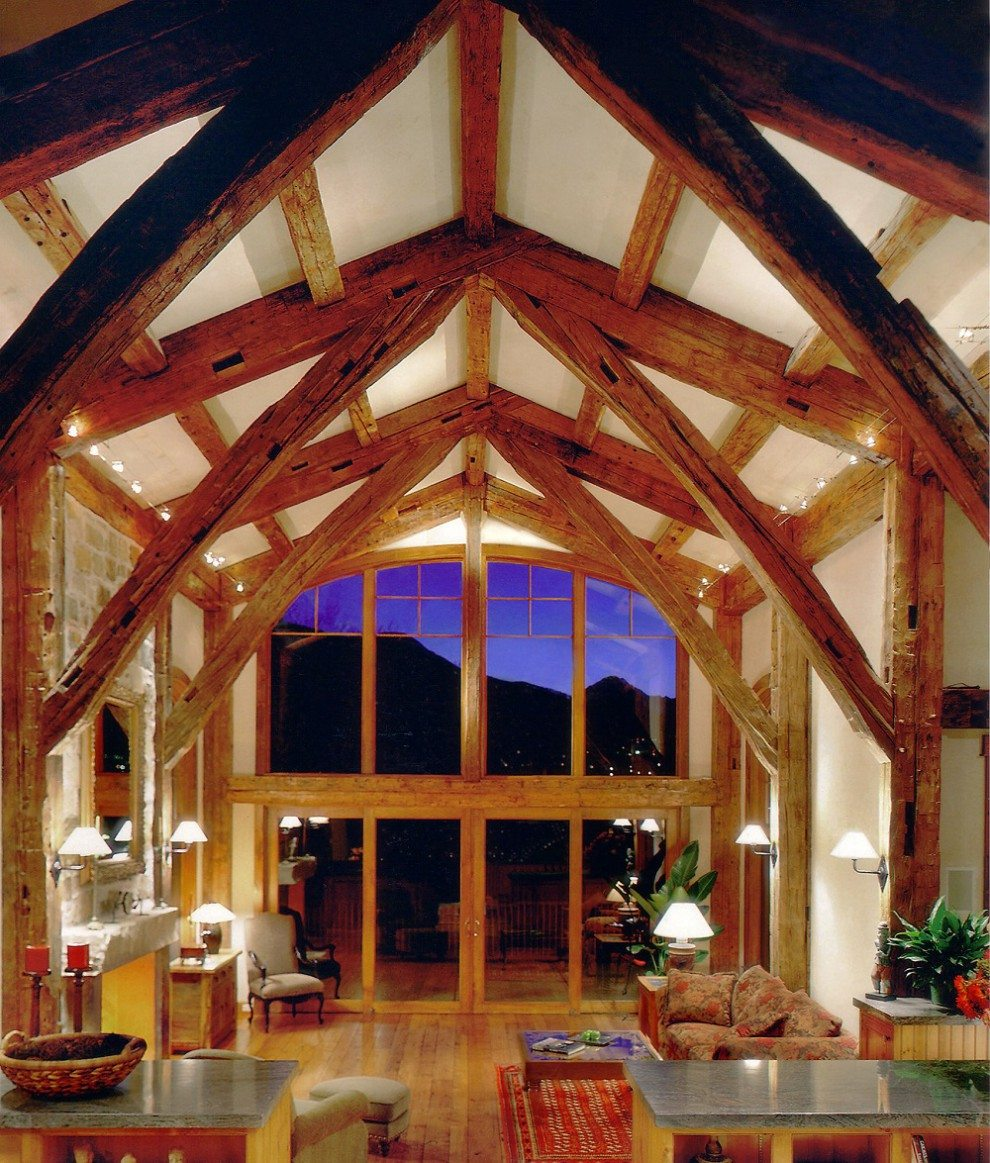 Trusses & Timber Framing from Reclaimed Wood | Southend
