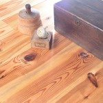 antique heart pine character