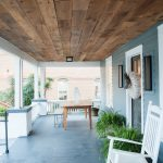 Brown Barnsiding Ceiling Planking