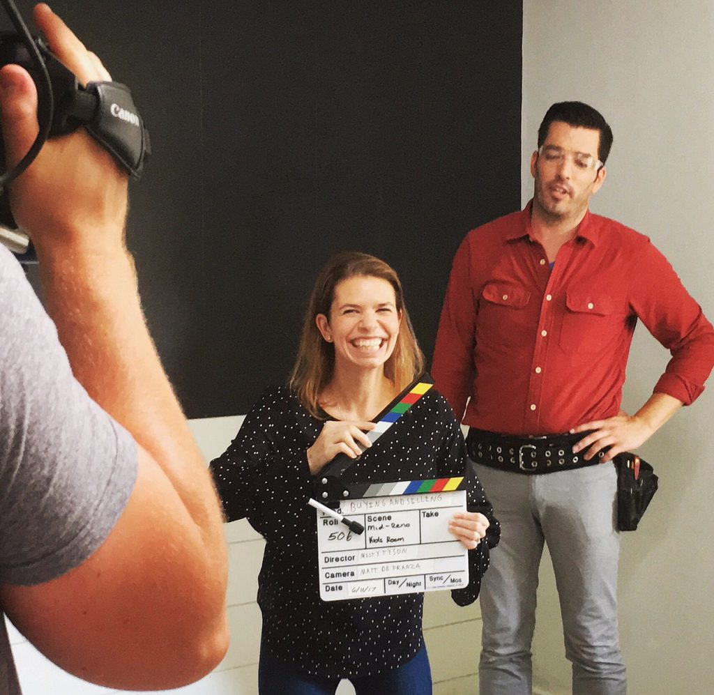 On Set Property Brothers