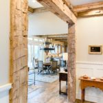Antique Reclaimed Hand Hewn Beams