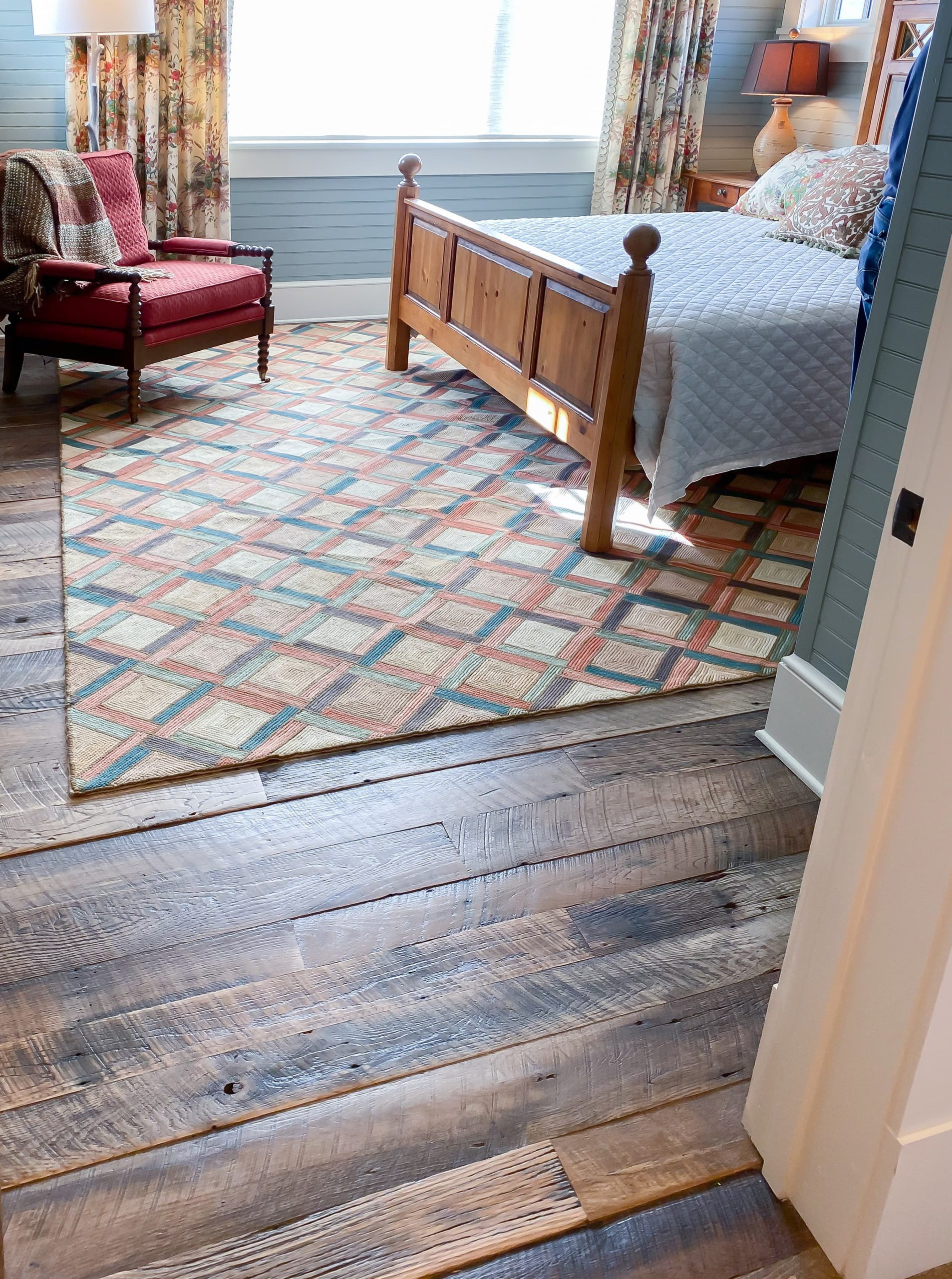 Antique Reclaimed Original Face Oak Flooring